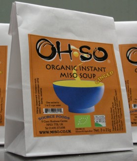 ohso ginger miso soup bag